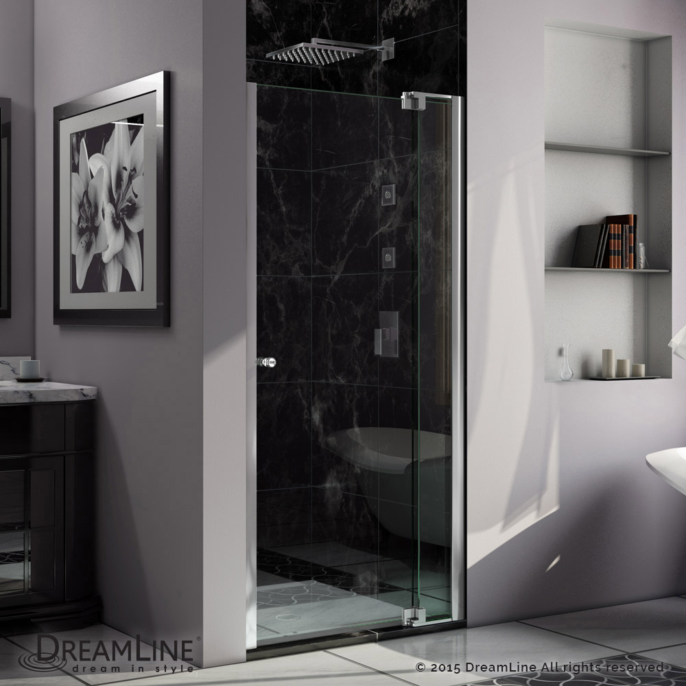 Allure Pivot Shower Door 30 41 In Actt Kitchen Bath