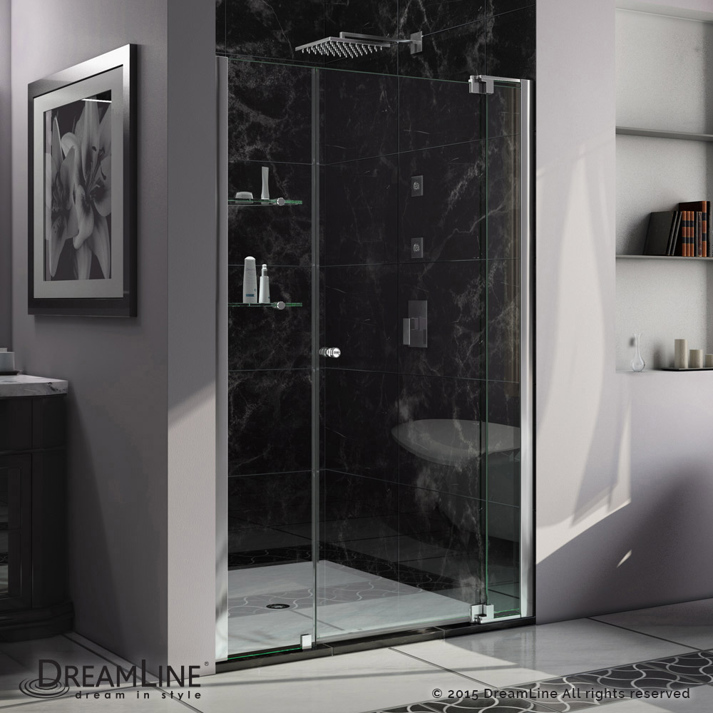 Allure Pivot Shower Door 42 53 In Actt Kitchen Bath